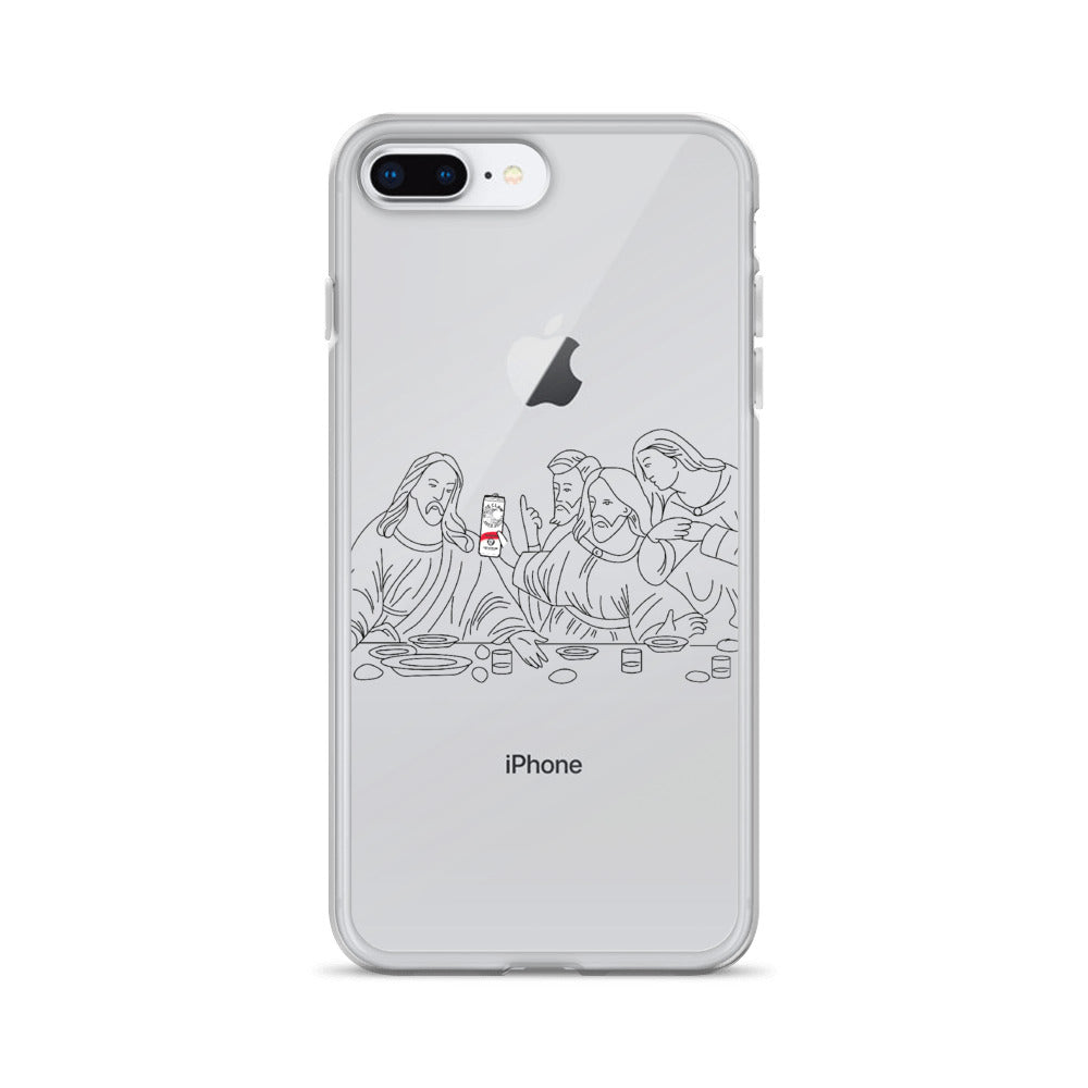 The Last White Claw iPhone Case (Generations 6 - 11) | Dog & Shark | Funny Gift Ideas