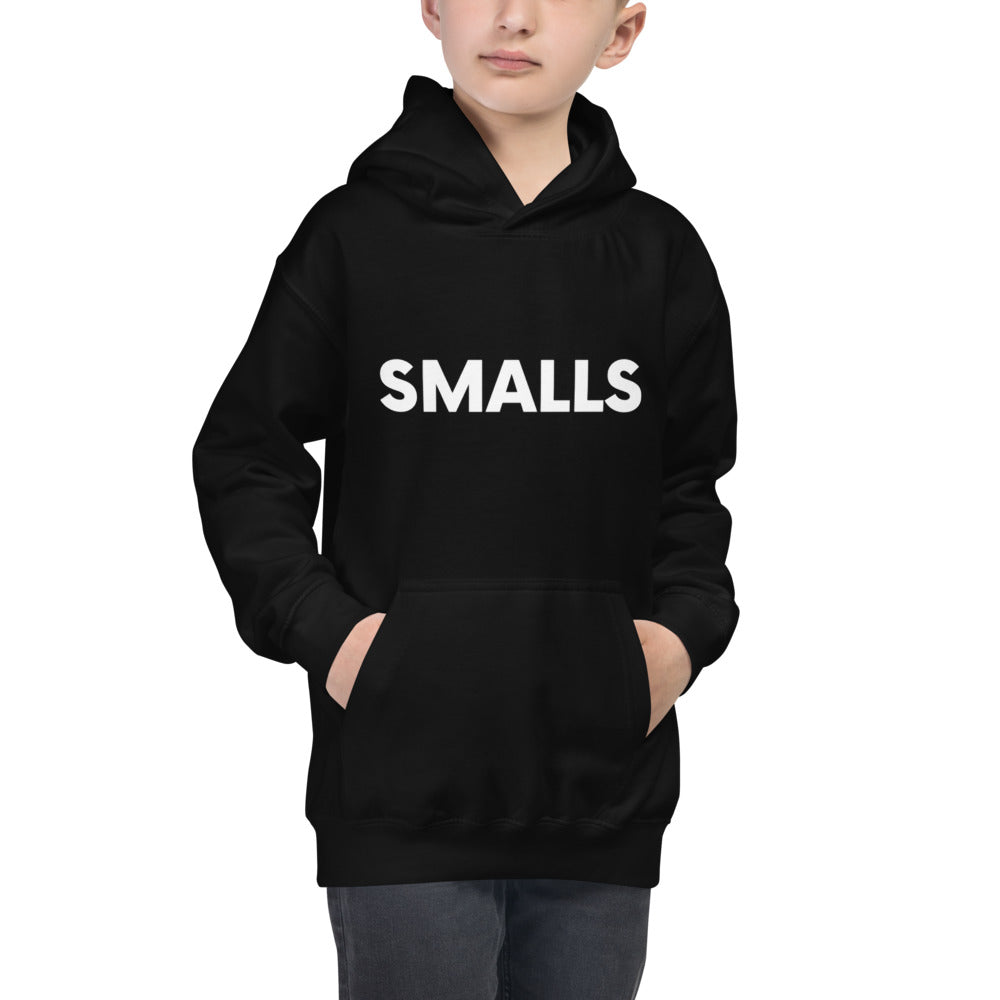 Biggie Smalls Kids Hoodie - Smalls | Dog & Shark | Funny Gift Ideas