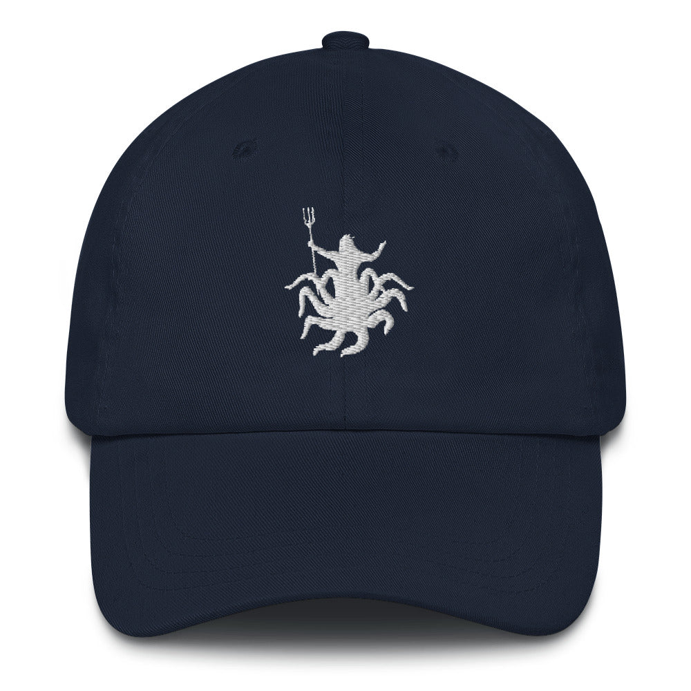 Neptune Octopus Baseball Hat | Dog & Shark | Funny Gift Ideas