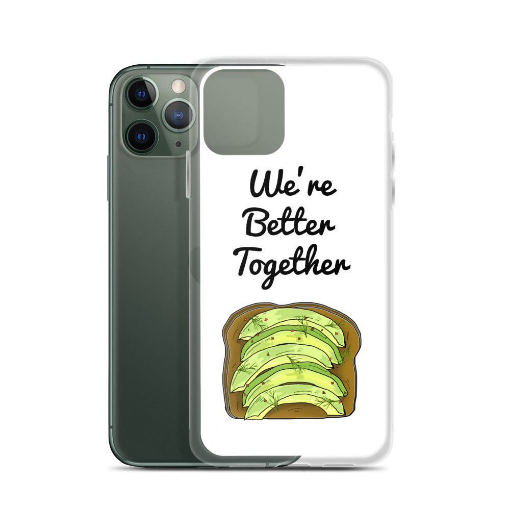 Avocado Toast iPhone Case (Generations 6 - 11) | Dog & Shark | Funny Gift Ideas