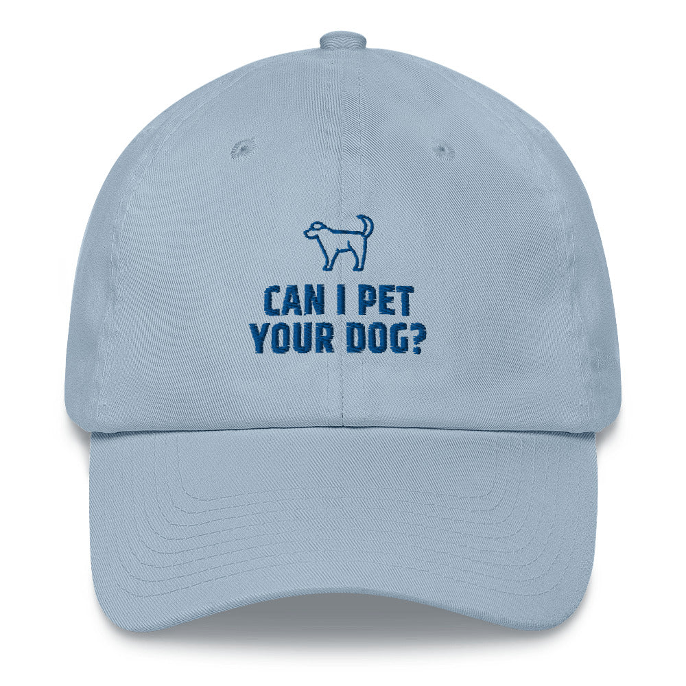 Can I Pet Your Dog Hat | Dog & Shark | Funny Gift Ideas