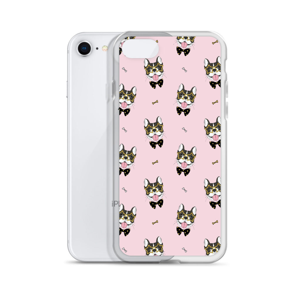 French Bulldog iPhone Case (Generations 6 - 11) | Dog & Shark | Funny Gift Ideas