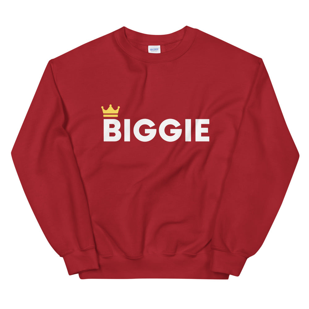 Biggie Smalls Parent Sweatshirt | Dog & Shark | Funny Gift Ideas