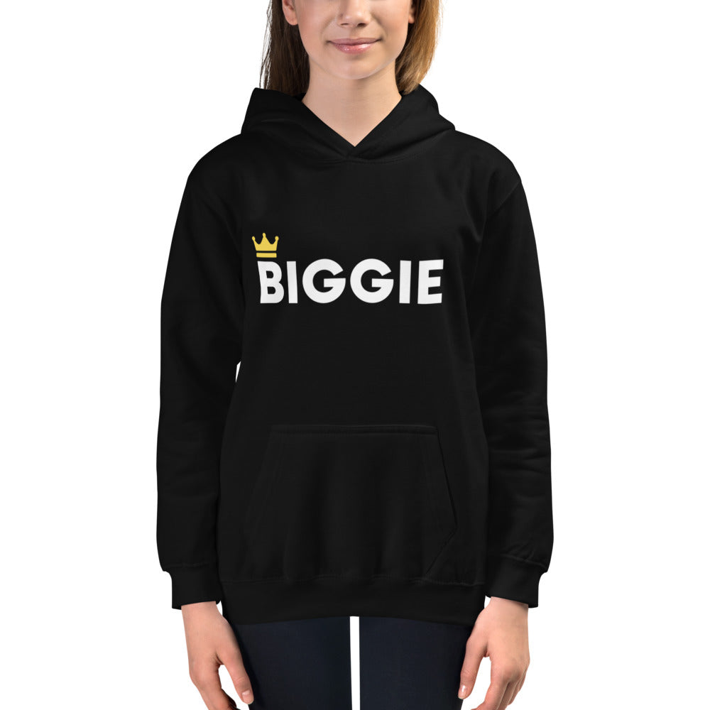 Biggie Smalls Kids Hoodie - Biggie | Dog & Shark | Funny Gift Ideas