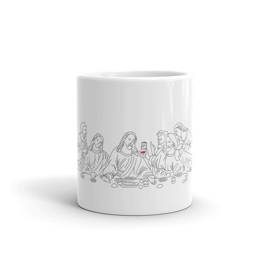 Last Supper / White Claw Mug | Dog & Shark | Funny Gift Ideas