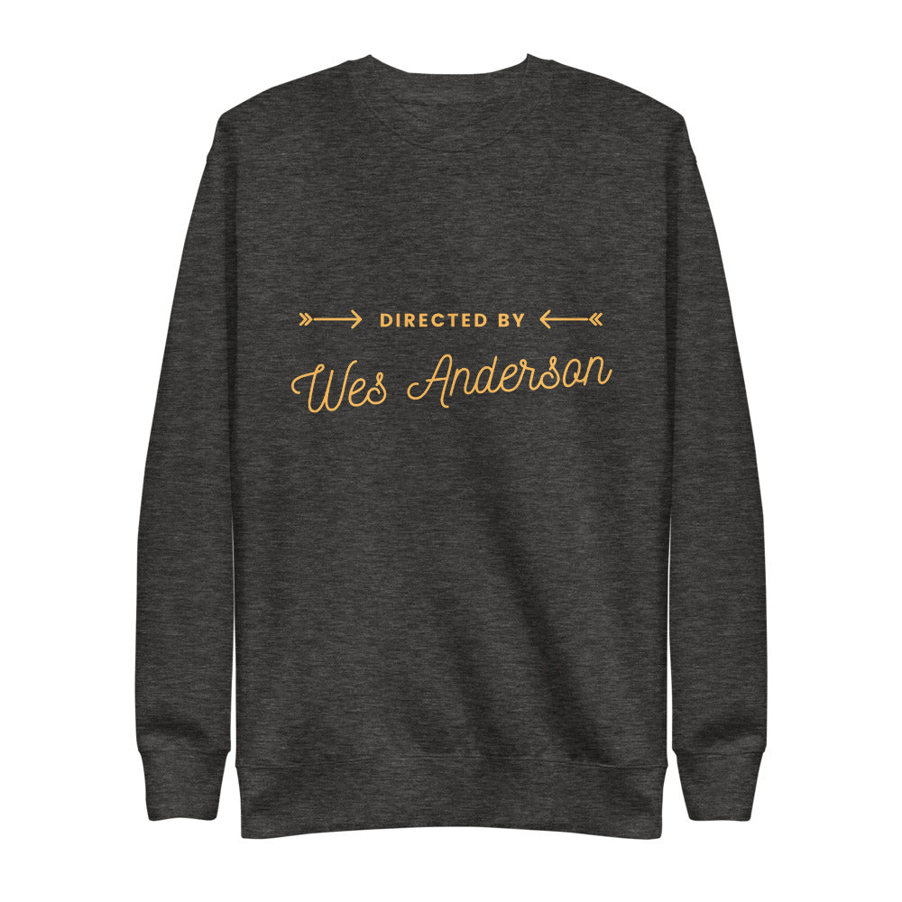 Wes Anderson Fleece Pullover | Dog & Shark | Funny Gift Ideas