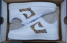 Load image into Gallery viewer, Burberry Style - Air Force 1s