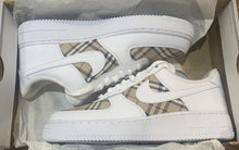 Load image into Gallery viewer, Burberry Tri Panel - Air Force 1s
