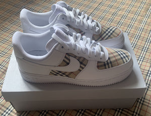 Burberry Tri Panel - Air Force 1s