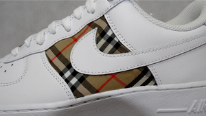 Burberry Style - Air Force 1s