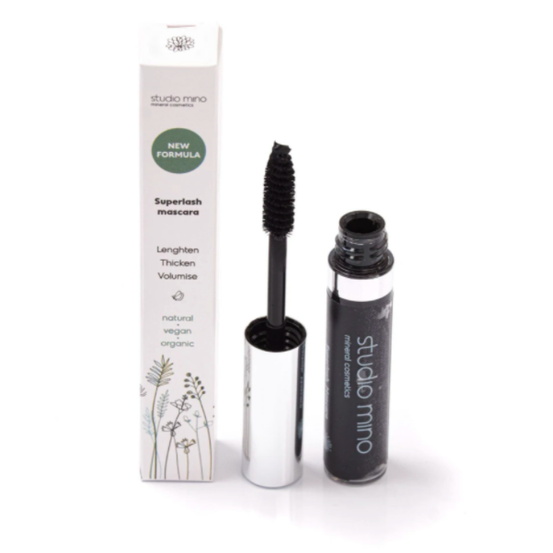 mineral mascara super lash black