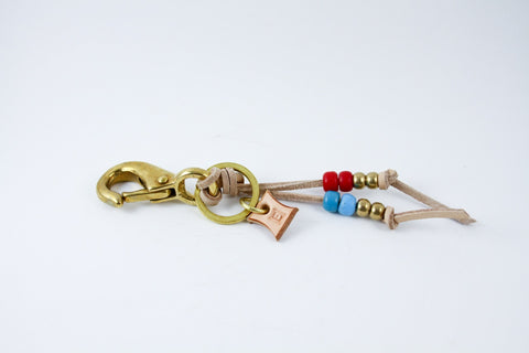Laced Key Clip (multiple colors)