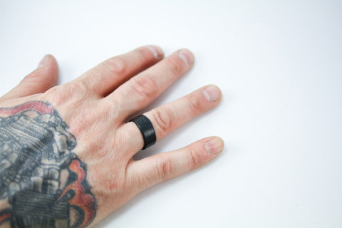 Anniversary Leather Ring