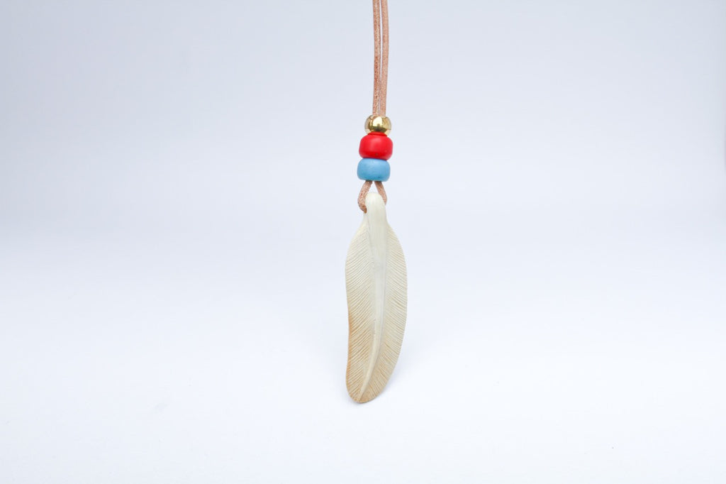 Mammoth Feather Necklace