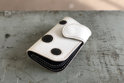 One Off Polka Dot Gentleman's Billfold