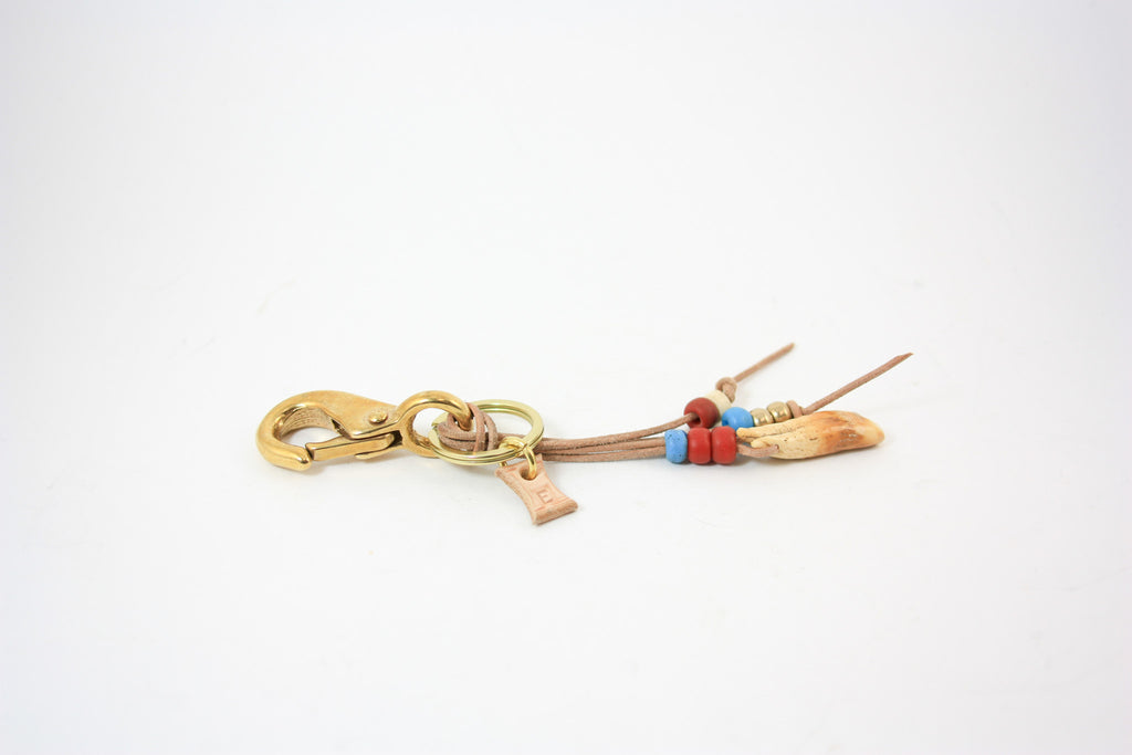 Walrus Tooth Laced Key Clip