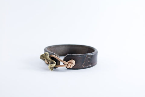 Brass Bear Knuckle Cuff