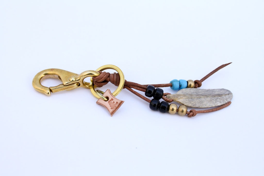 Mammoth Feather Key Clip