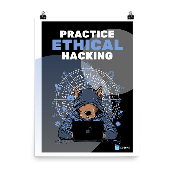 Ethical Hacking Karel Poster
