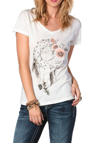 Miss Me Floral Dream Catcher Top (size SMALL left)