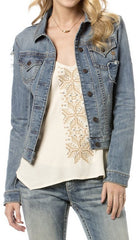 Miss Me Gilt Trip Denim Jacket
