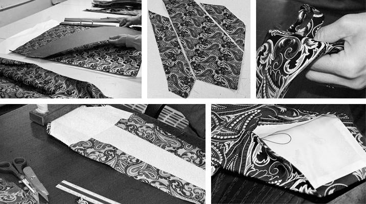 The Making of a Turnbull & Asser Tie
