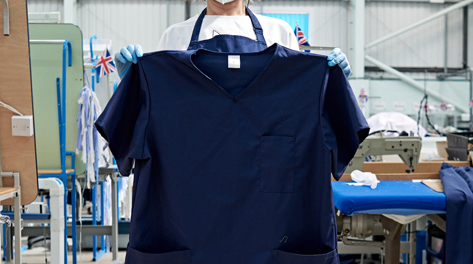 Making NHS Scrubs: Sharing Our Knowledge