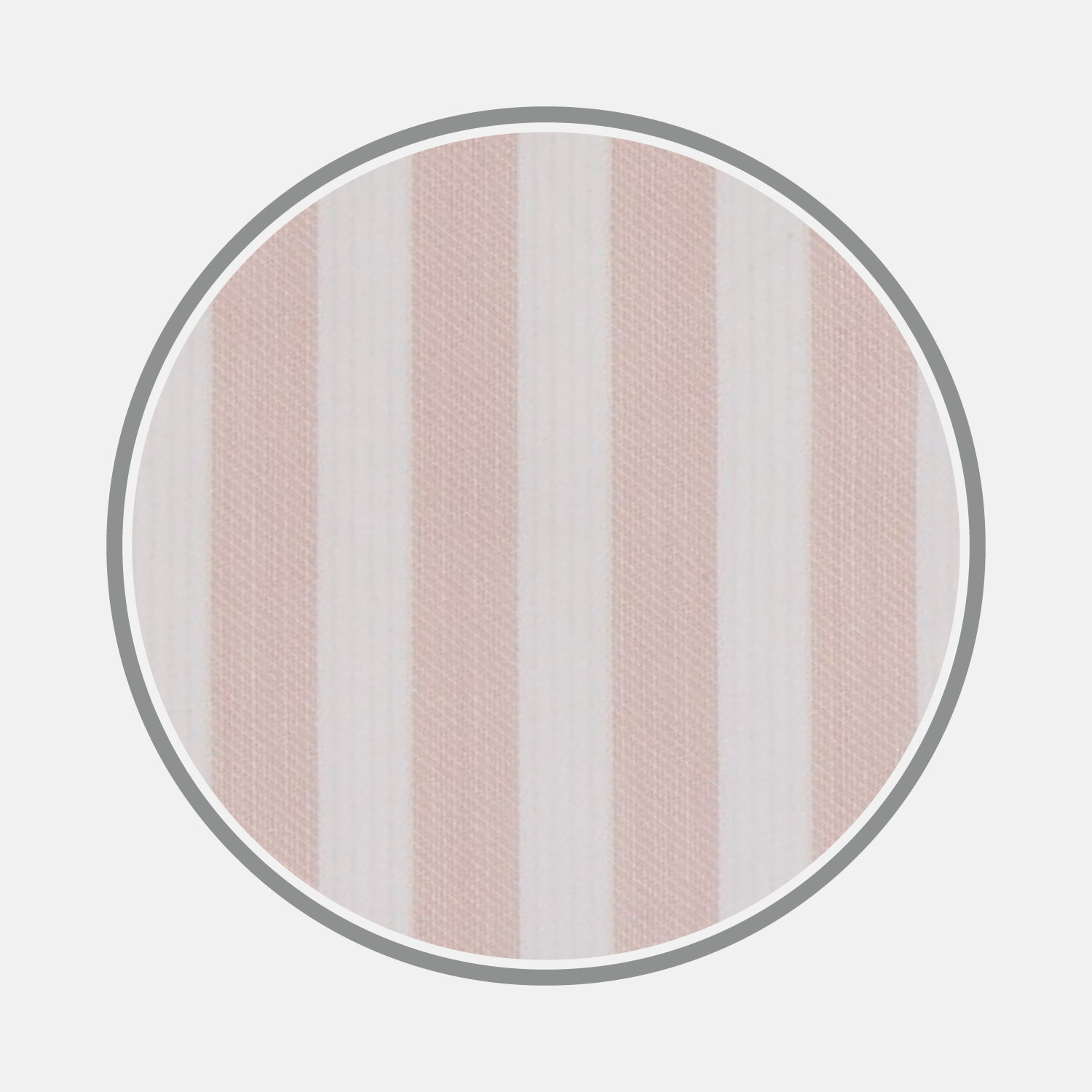 Pink and White Stripe Cotton Fabric