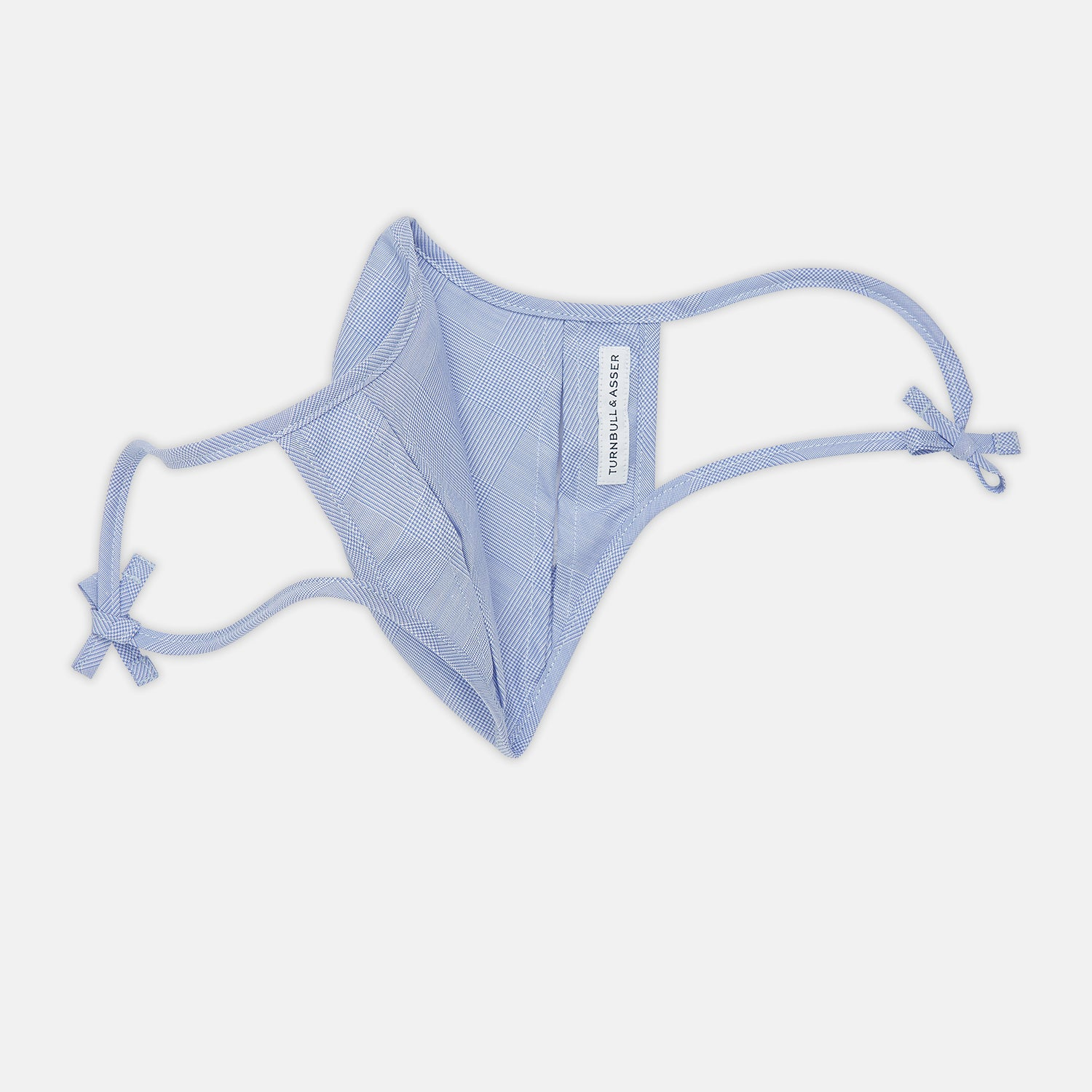 Blue & Pink Gingham Cotton Commuter Mask with 3 VIROFORMULA™ filters