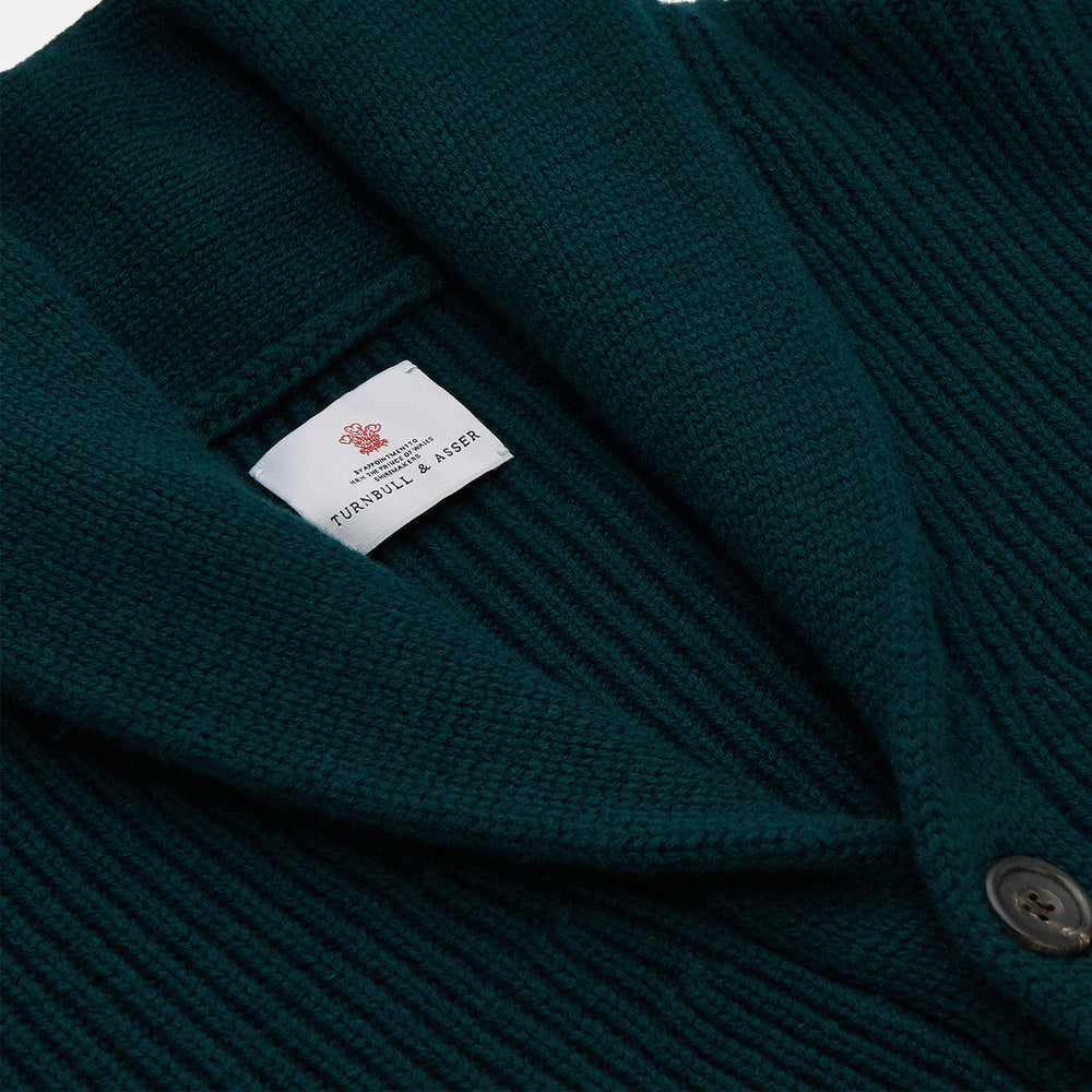 Ainsley Ribbed Shawl Neck Cardigan