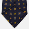 Yellow Norfolk Shields Silk Tie