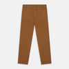 Tan Stretch Cotton Five-Pocket Mylo Jeans