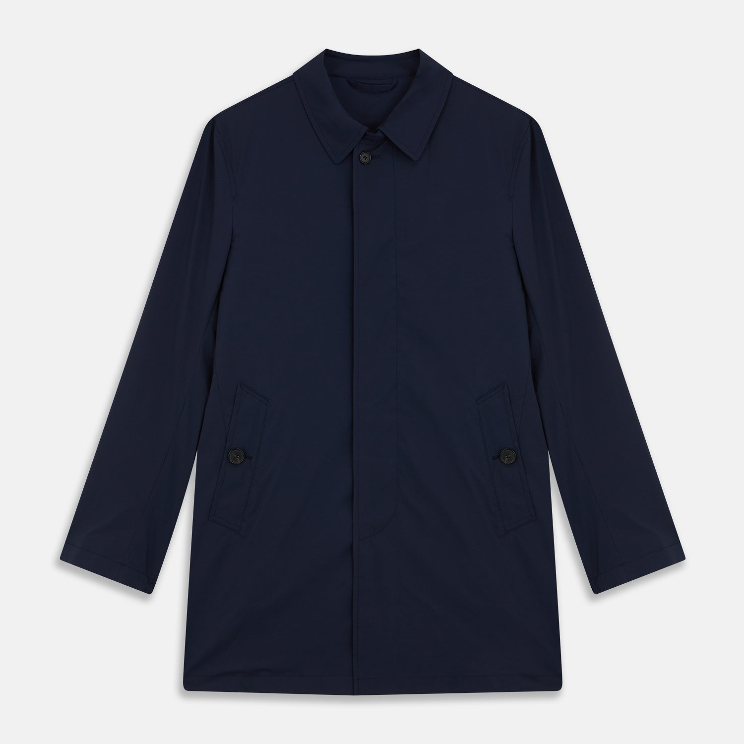 Navy Pack-Away Rain Mac