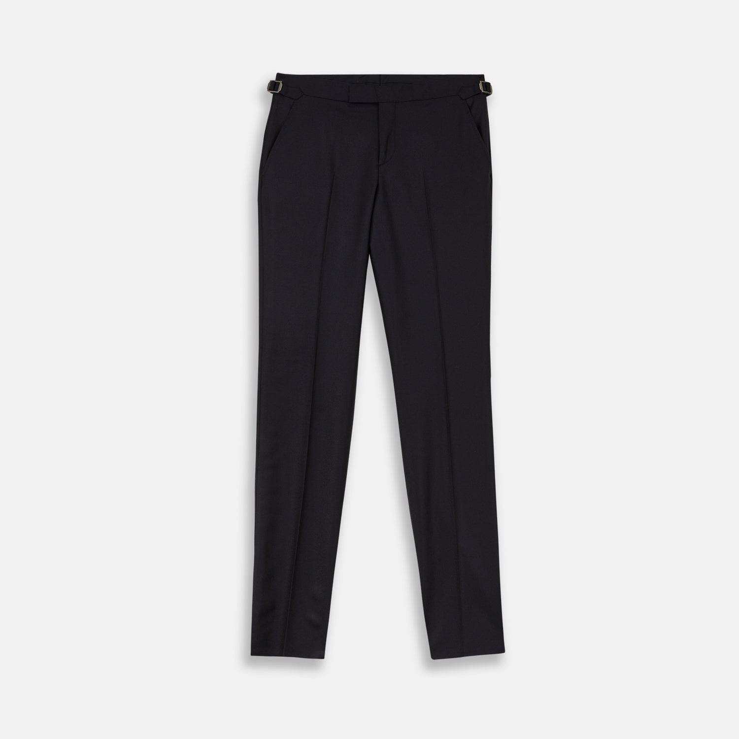 Navy Escorial Wool Trousers
