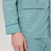 Green Fine Check Cotton Modern Pyjama Set
