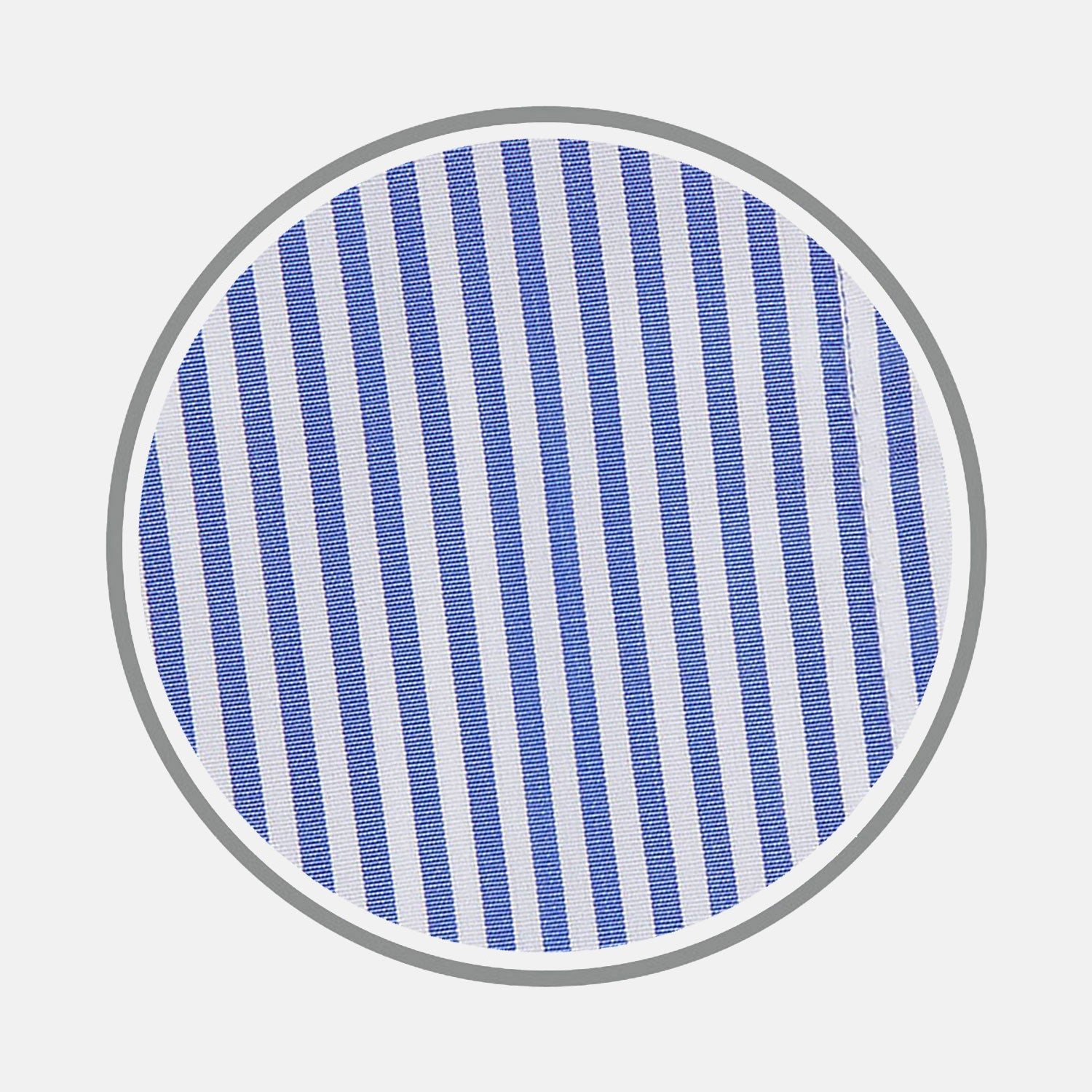 Blue Bengal Stripe Cotton Fabric