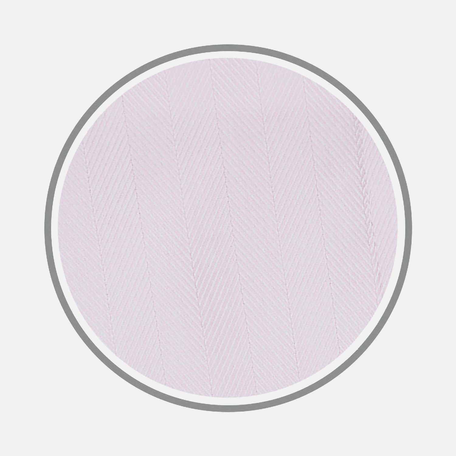 Pink Herringbone Cotton Fabric