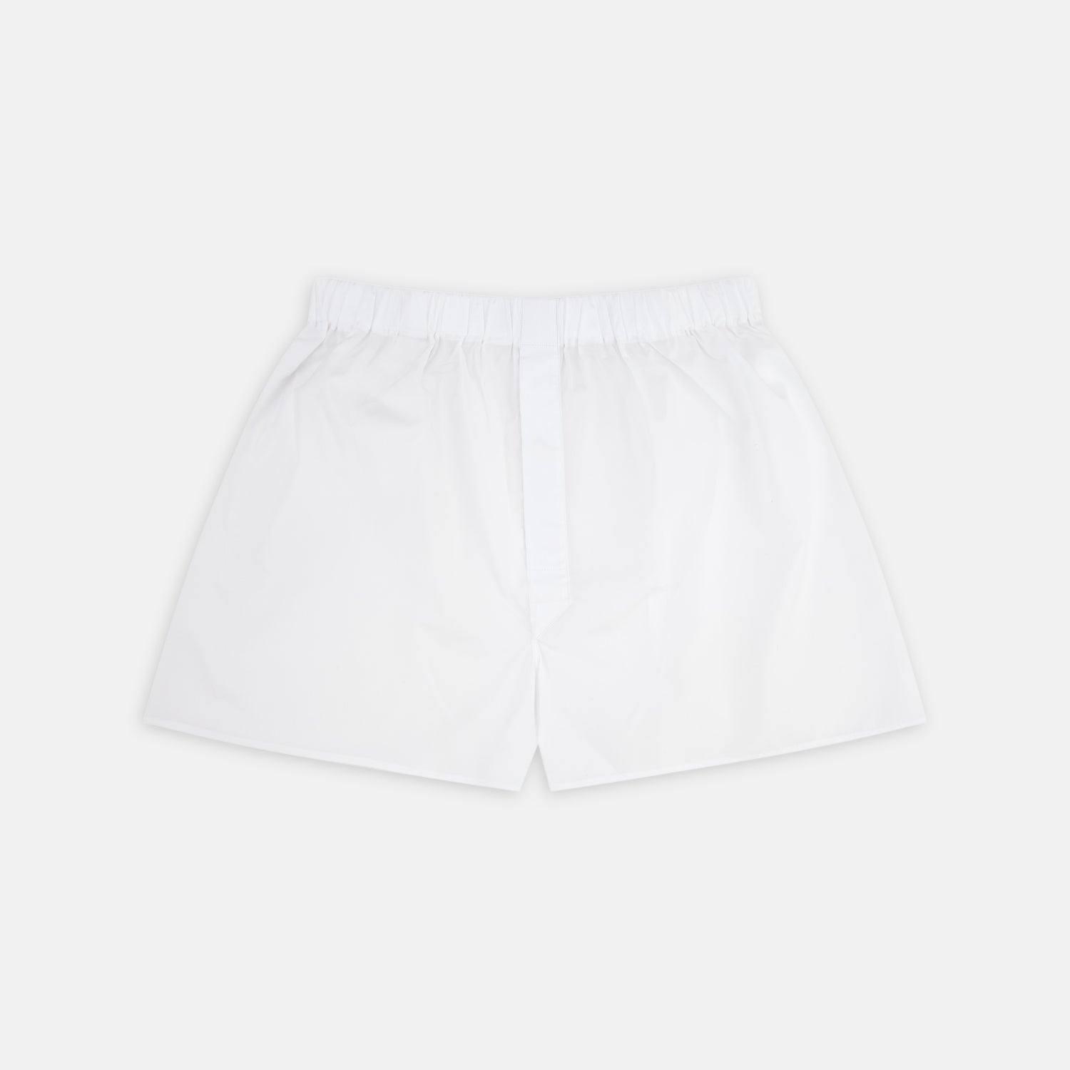 White Two-Fold 200 Cotton Boxer Shorts