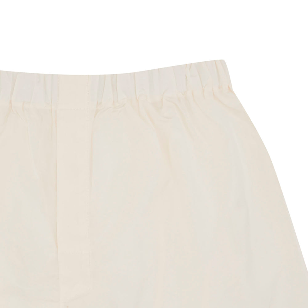 Cream Sea Island Quality Cotton Boxer Shorts