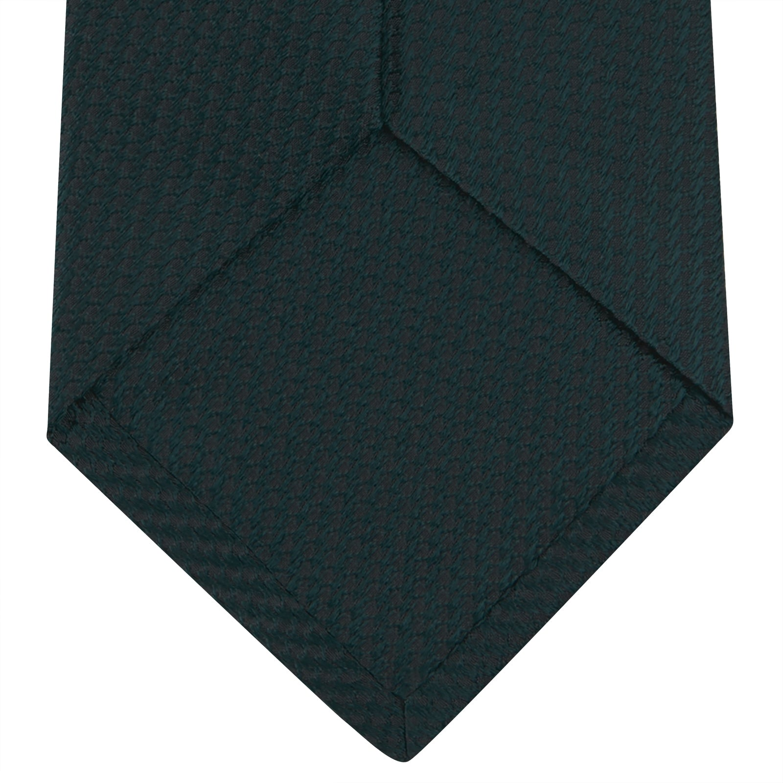 Forest Green Lace Silk Tie