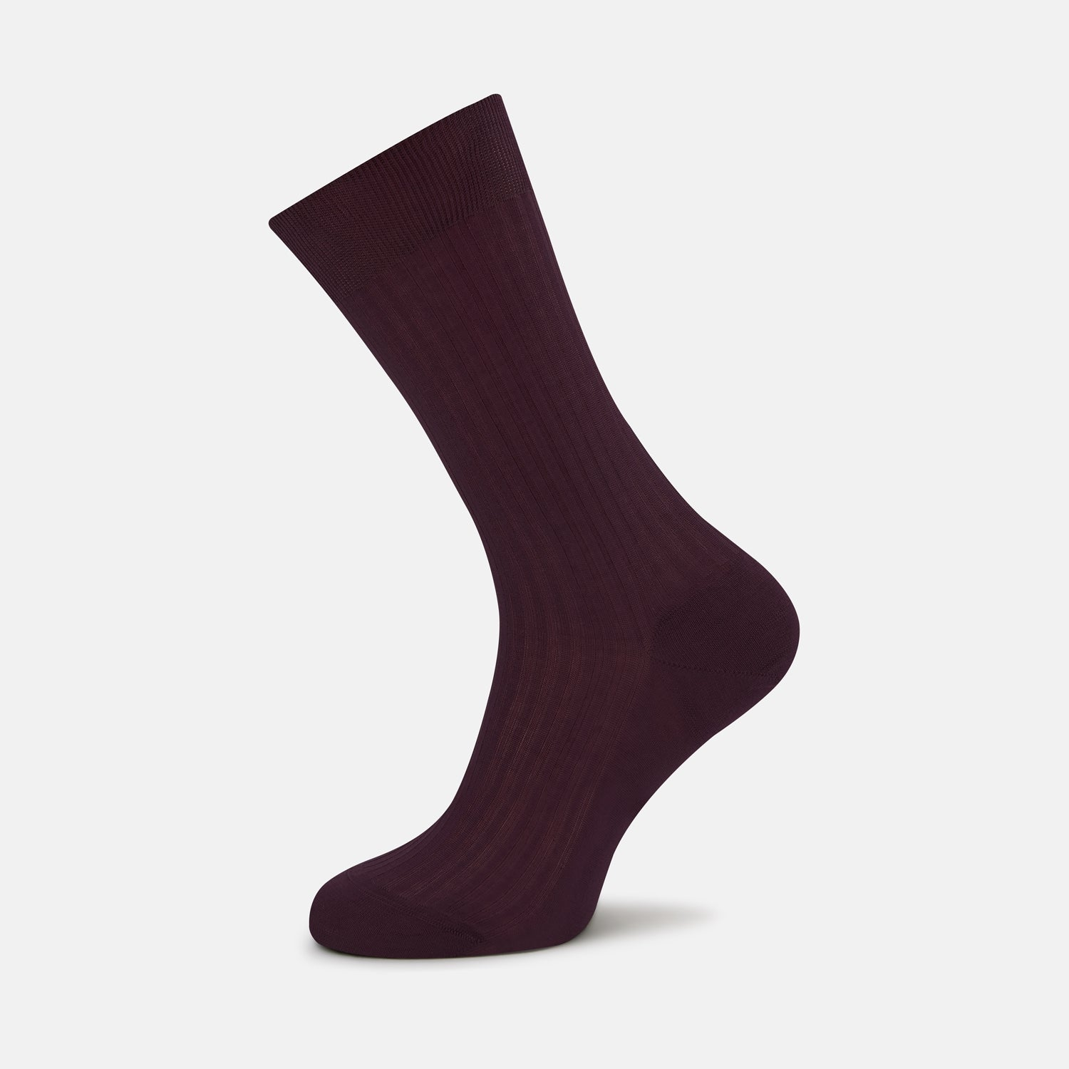 Burgundy Short Cotton Socks