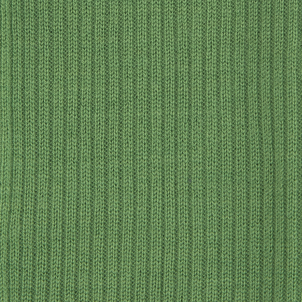 Green Long Merino Wool Socks