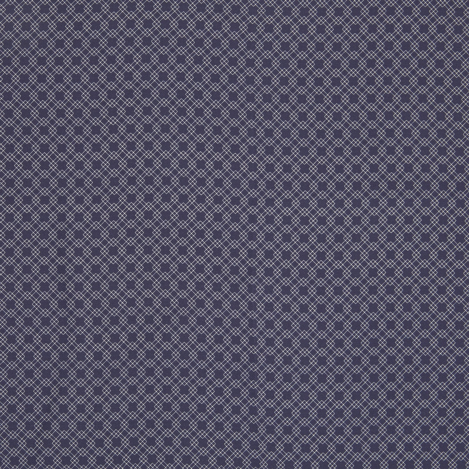 King's Navy Monocle Silk Pocket Square