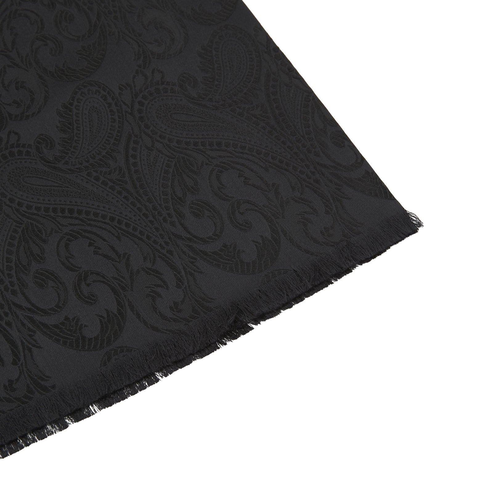Black House Paisley Silk Scarf