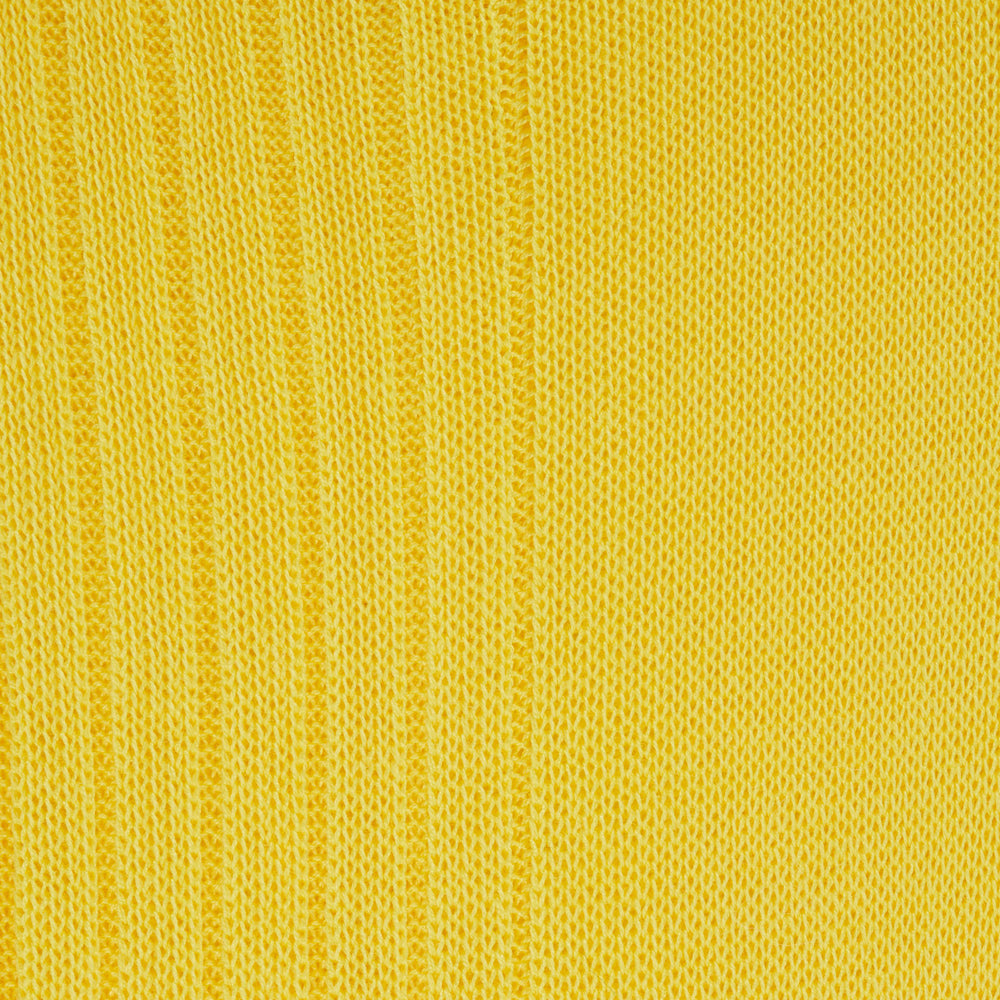 Yellow Short Cotton Socks