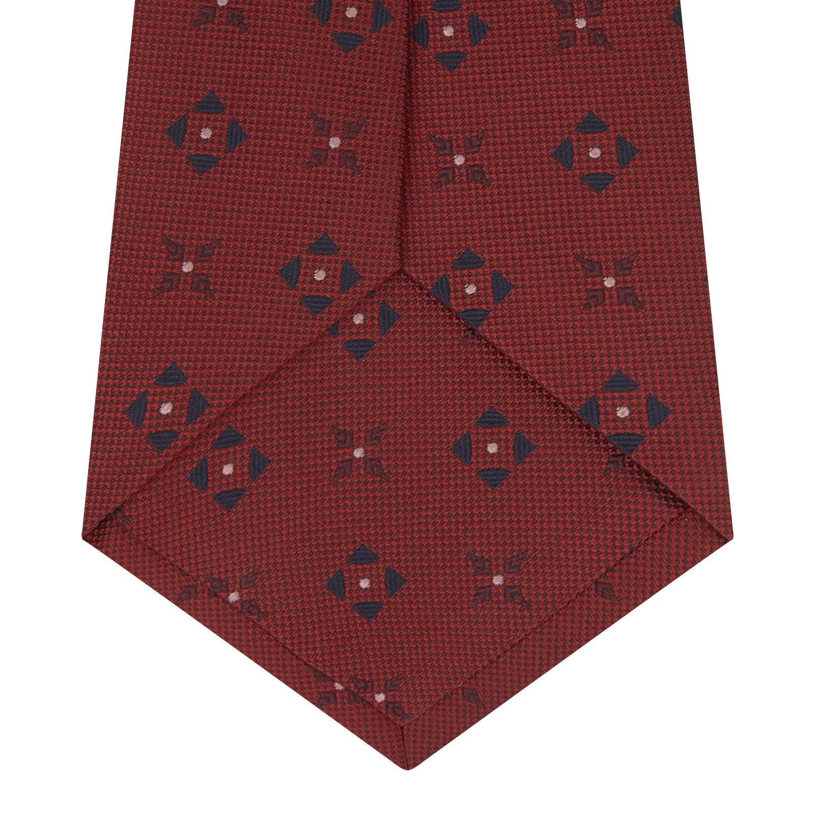Red Crosses Silk Tie