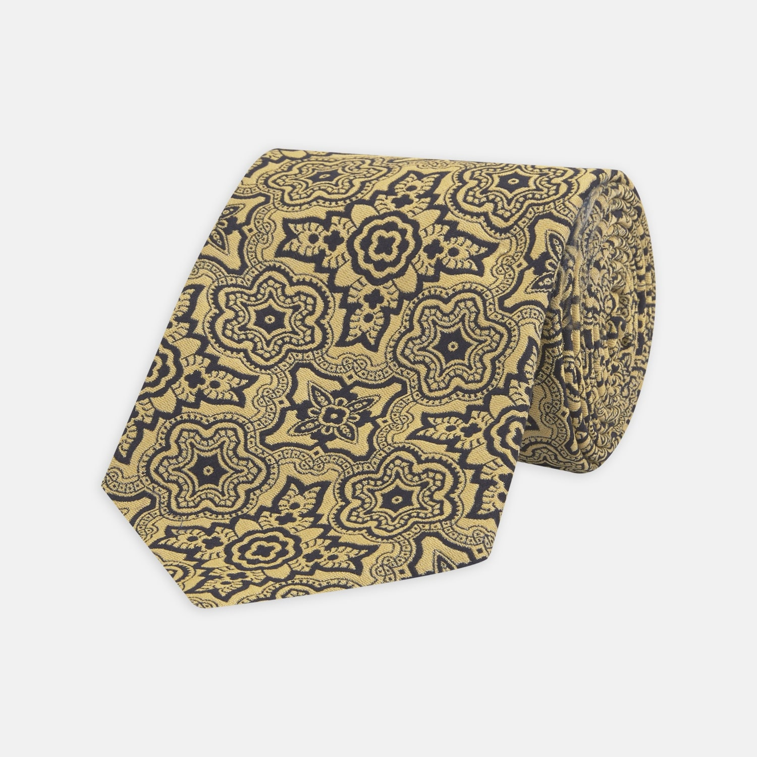 Yellow Wallpaper Silk Tie