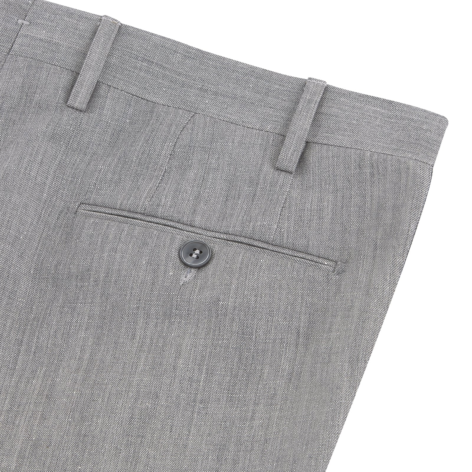 Bertie Grey Linen Trousers