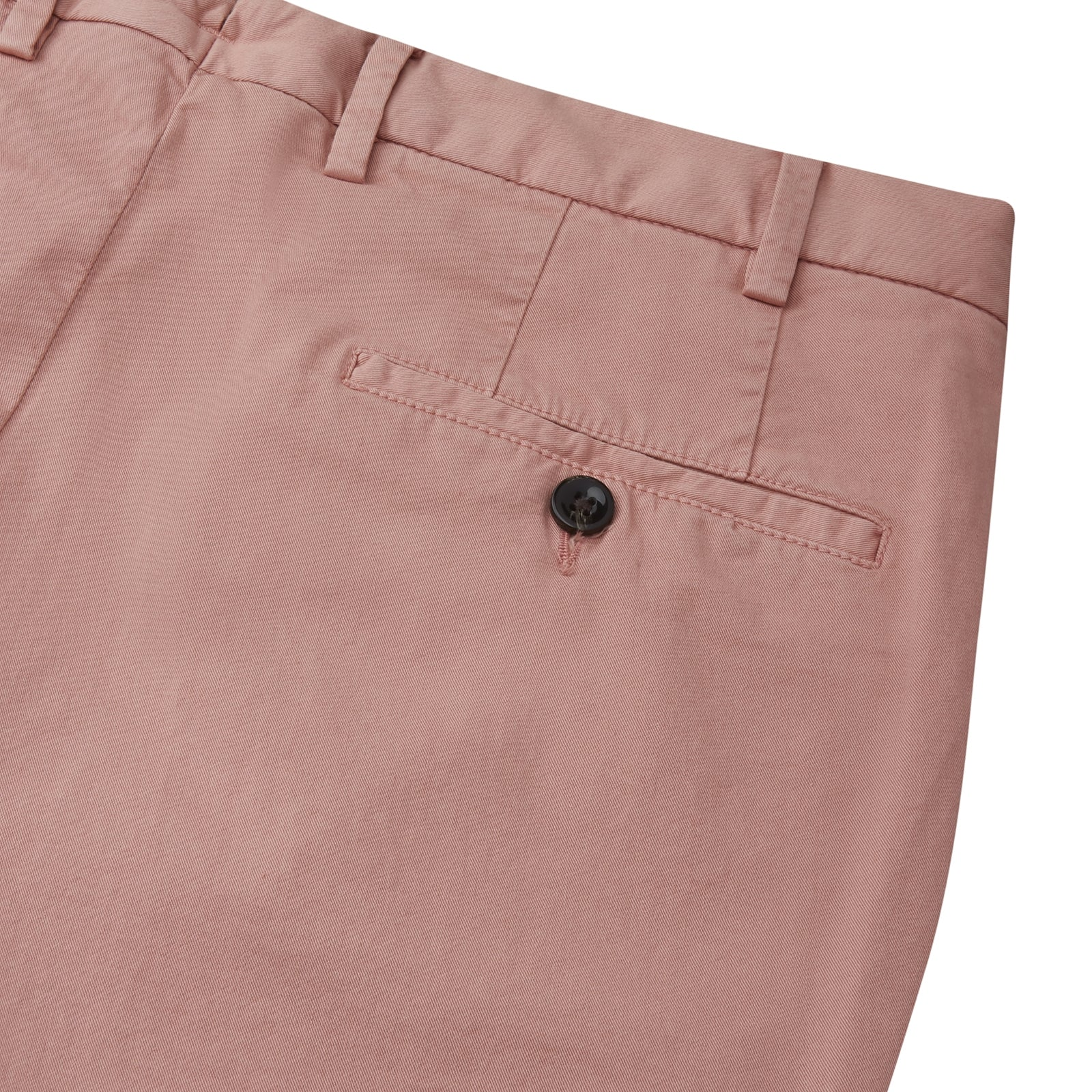 Pink Garment Dyed Cotton Chinos
