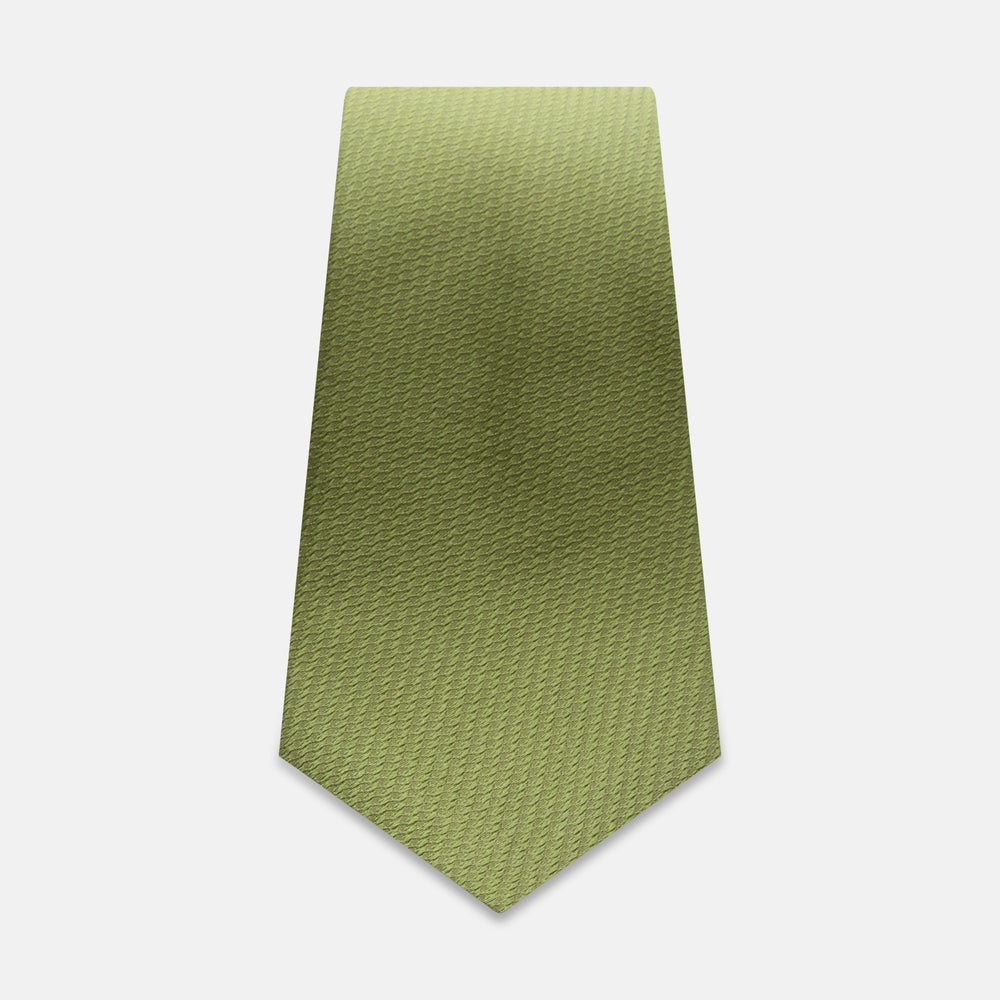 Green Lace Silk Tie